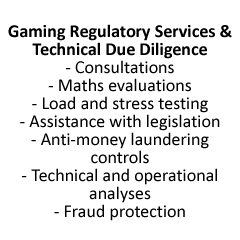 Gaming Regulatory Services